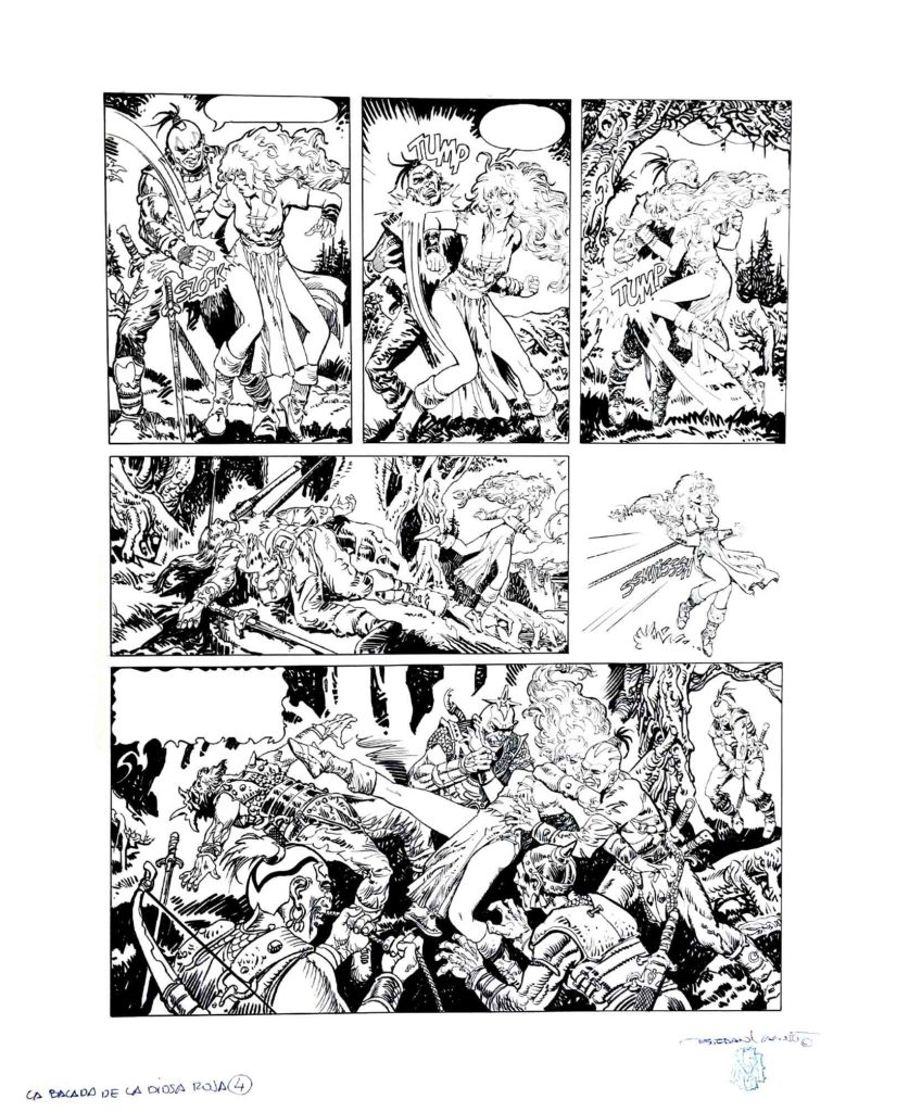 PAGE 4 Red Sonja The Ballad of the Red Goddess