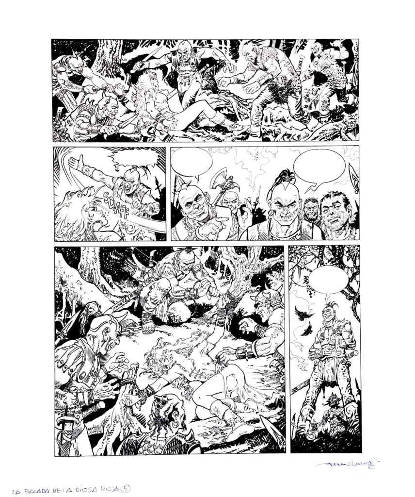 PAGE 5 Red Sonja The Ballad of the Red Goddess