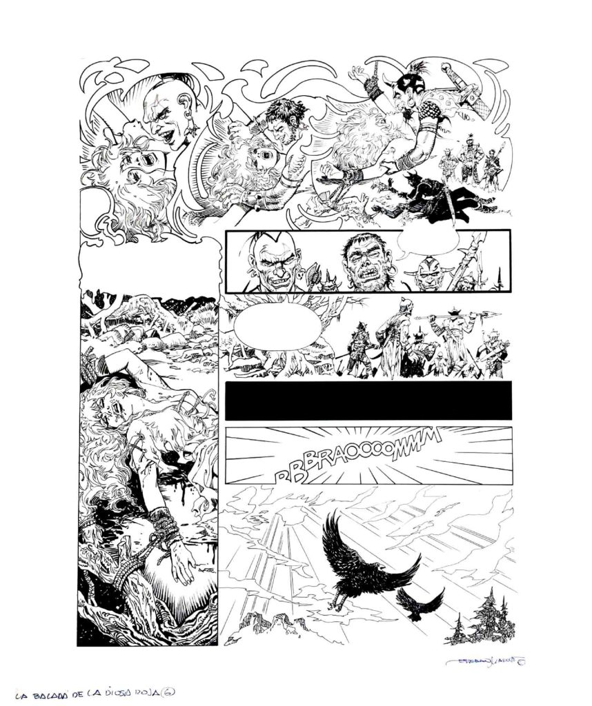 PAGE 6 Red Sonja The Ballad of the Red Goddess