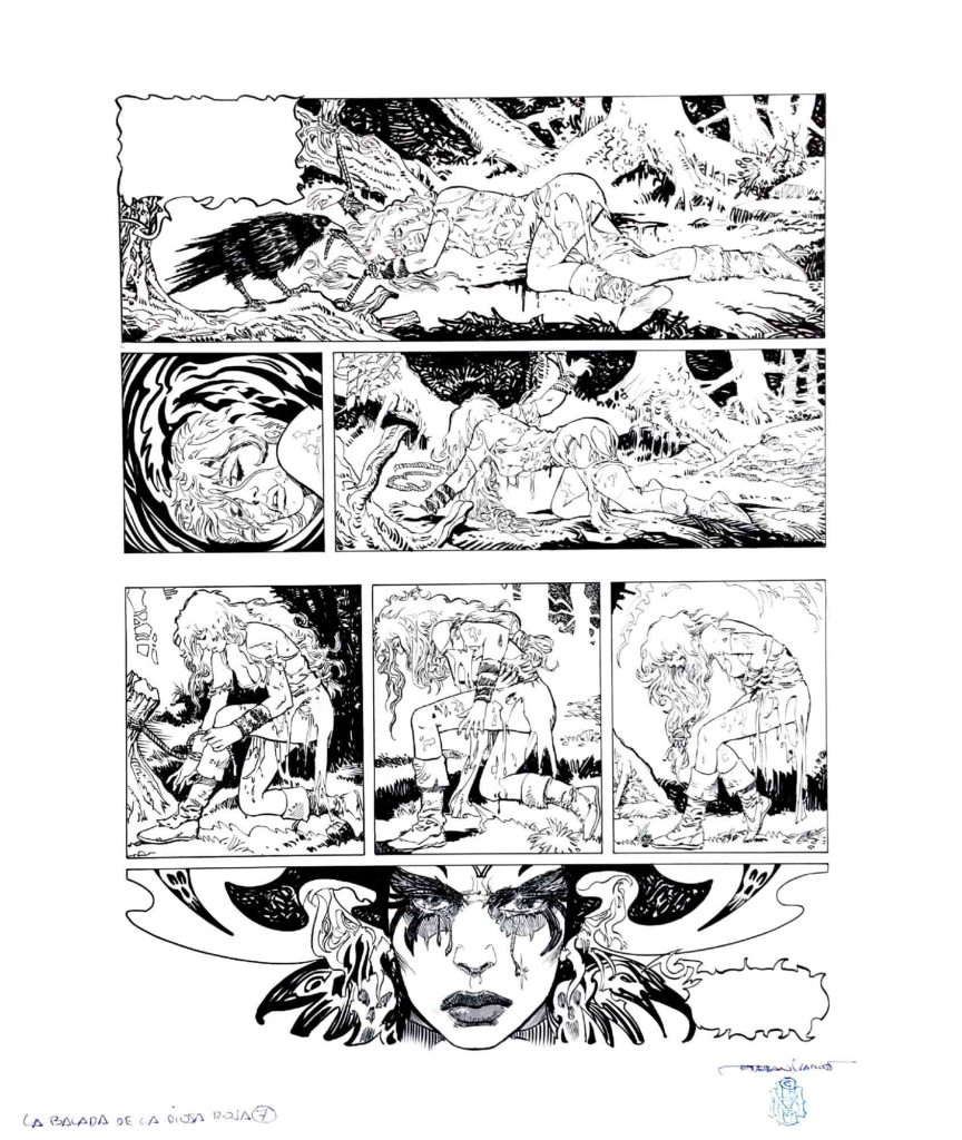 PAGE 7 Red Sonja The Ballad of the Red Goddess