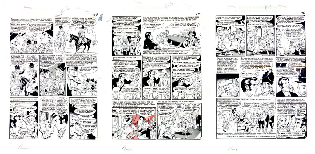 Panic 9 Complete 7 Page Story Bo Bummel or Much Ado About Clothing 2
