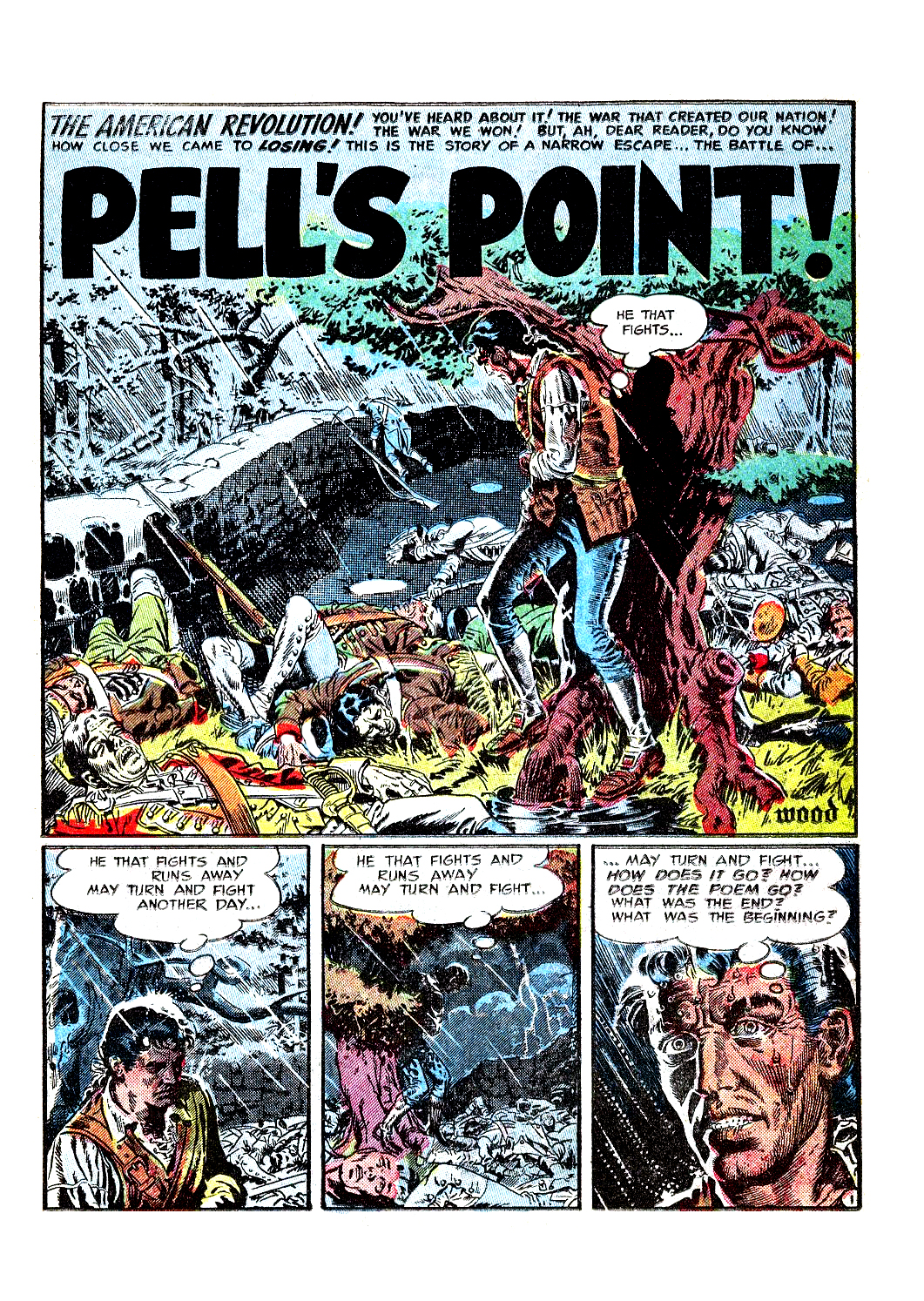 Pell's Point! from Two-Fisted Tales # 28-1952