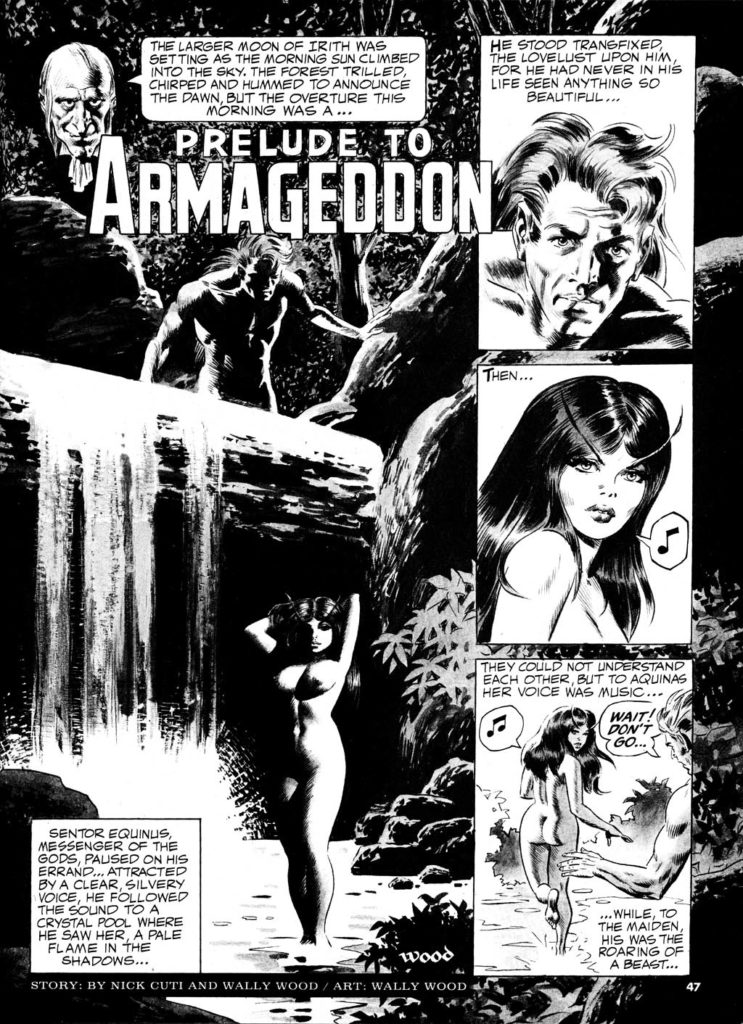 Prelude to Armageddon Wood 1