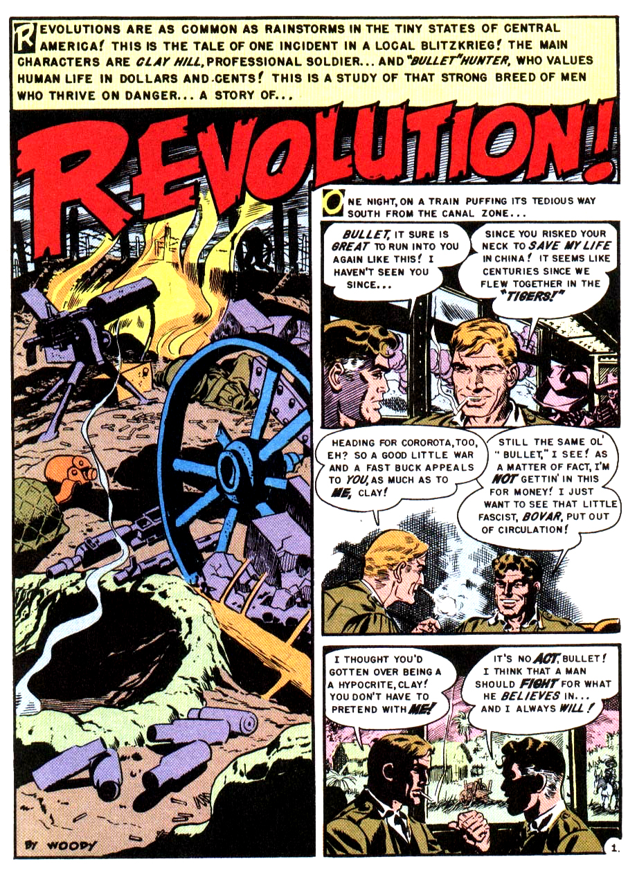 Revolution ! from Two Fisted Tales 18-1950