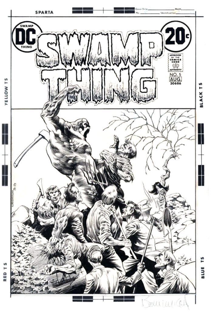 SWAMP THING 5 PAGE 01