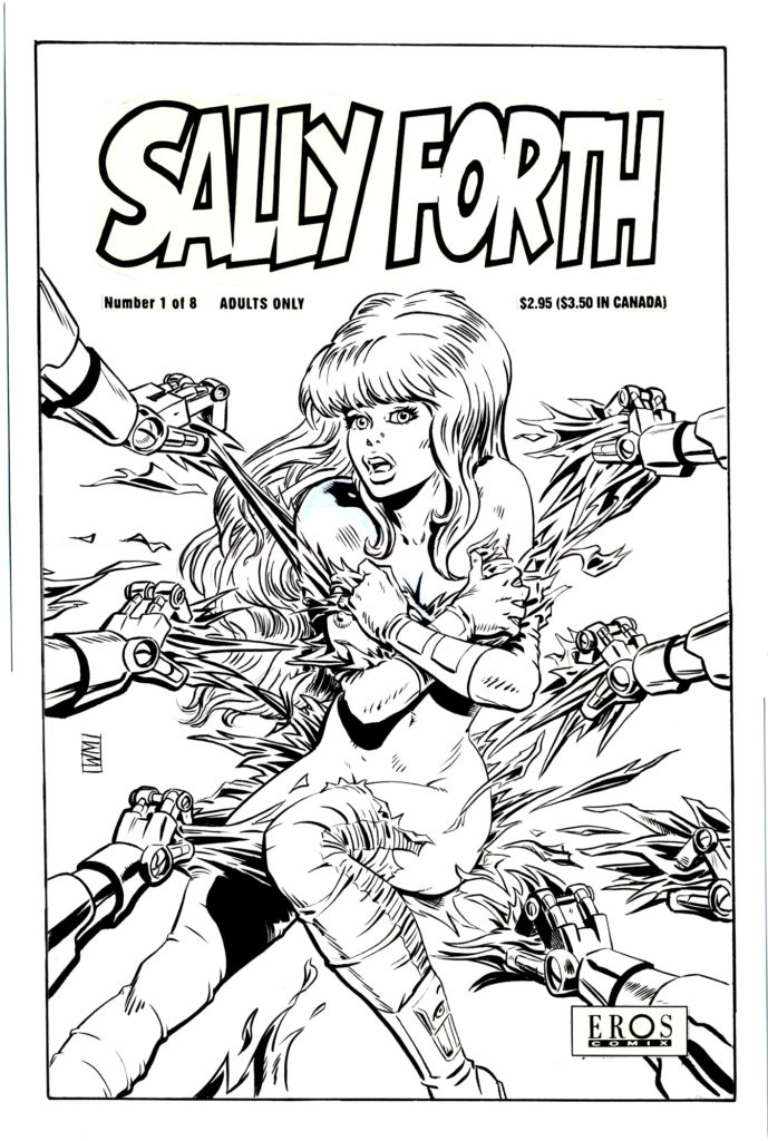 Sally Forth 1 Cover 1993 1