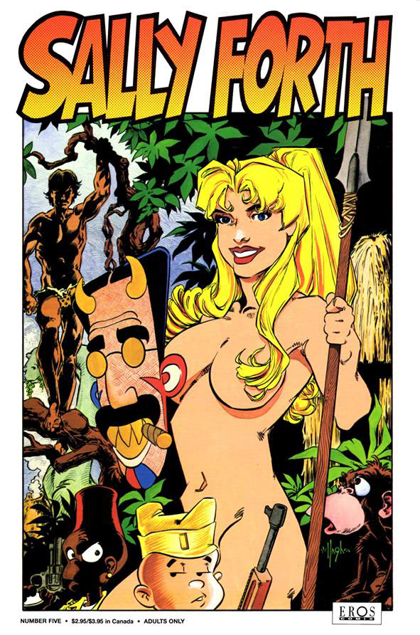 Sally Forth 5 Cover 1993