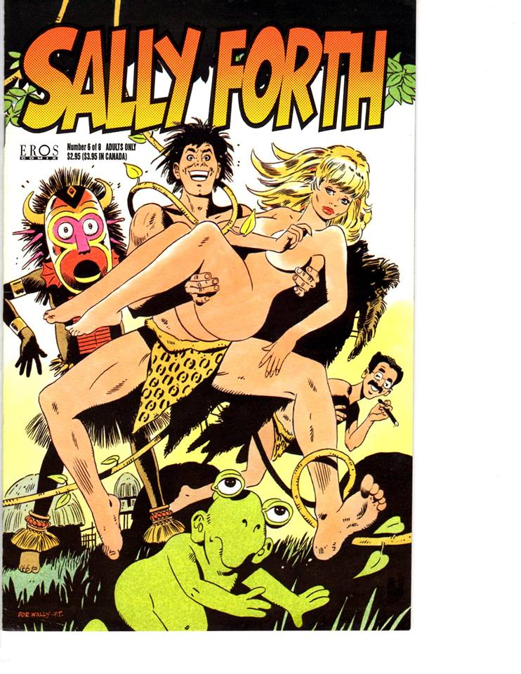 Sally Forth 6 Cover 1993