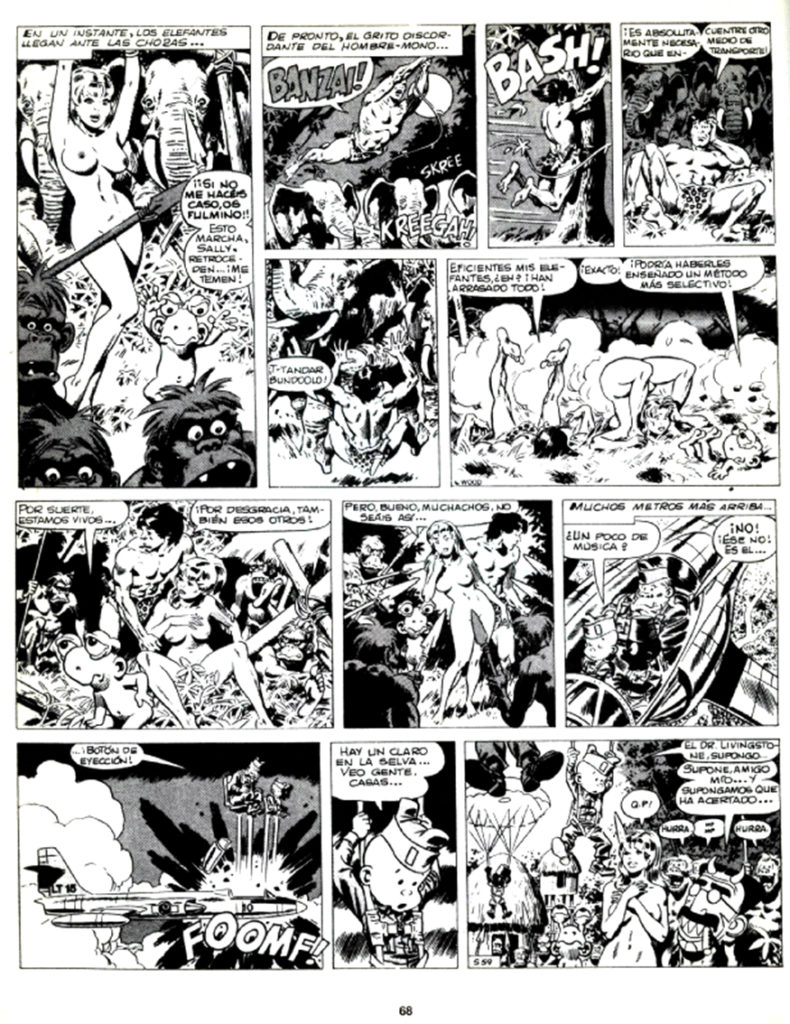 Sally Forth Comic Strip S59 Original Art Wood and Richter 1972....