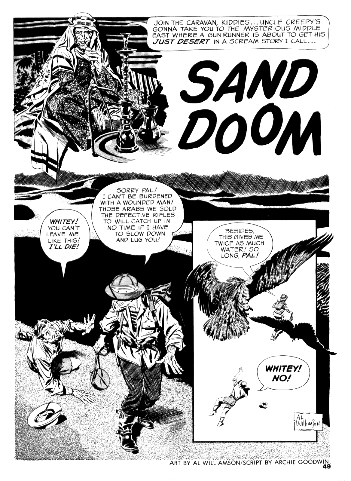 Sand Doom from Creepy #5 – 1964