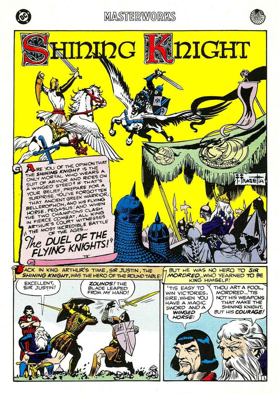 Shining Knight – The duel of the flying knights ! Frazetta