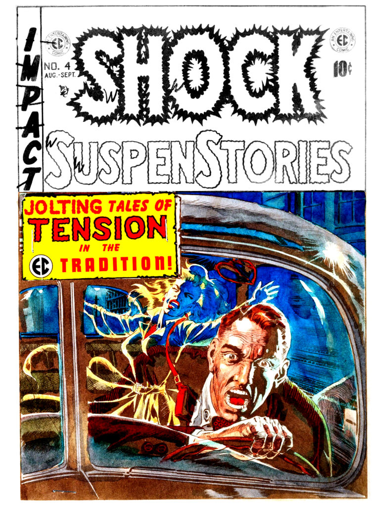 Shock Suspenstories 4 1952 EC Comics par Wally Wood