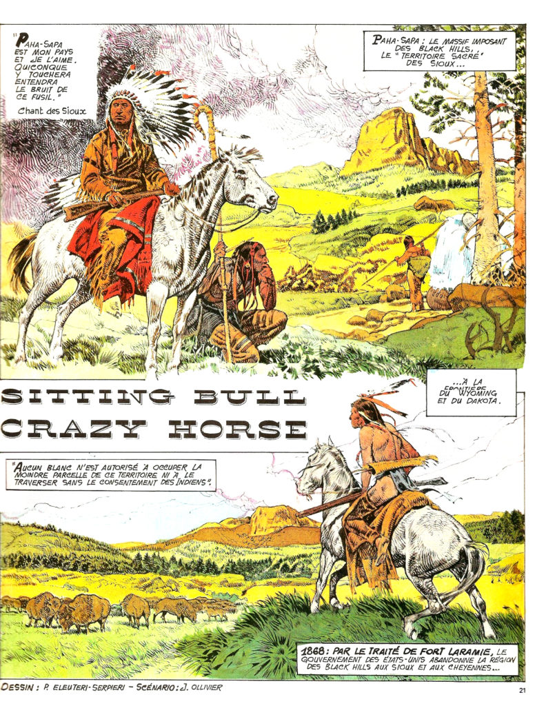 Sitting Bull Crazy Horse 1A