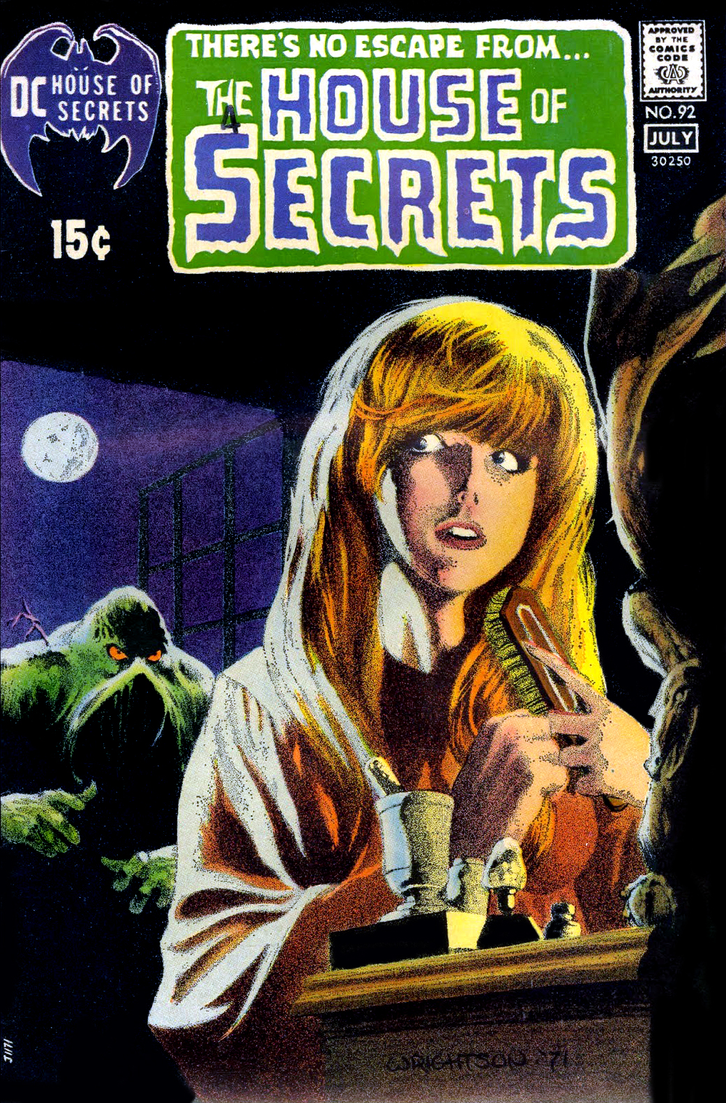Swamp Thing story from House of Secrets #92