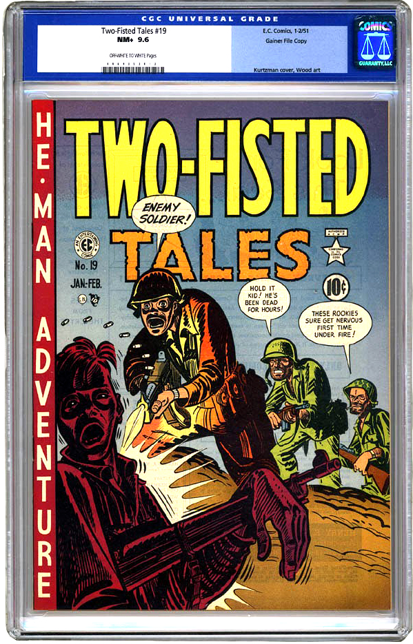 TWO FISTED TALES 19 1
