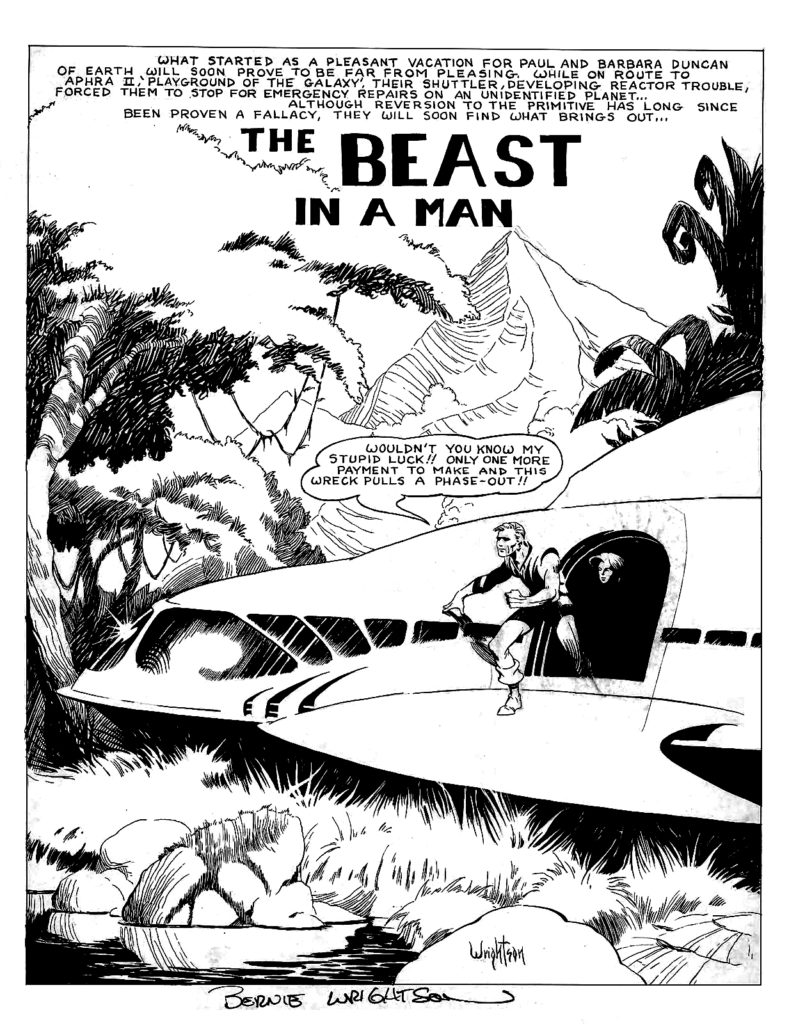 The Beast In A Man p1A