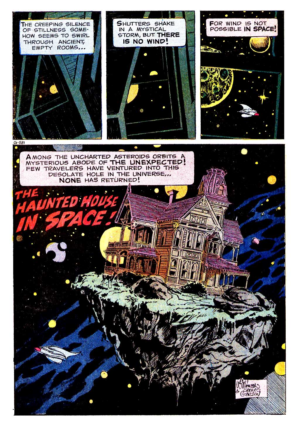 The Haunted House in Space – Al Williamson and Carlos Garzon 1971