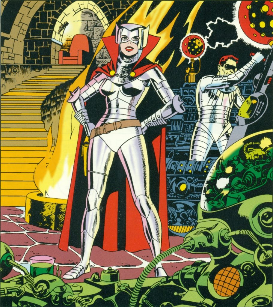 The Iron Maiden by Wally Wood