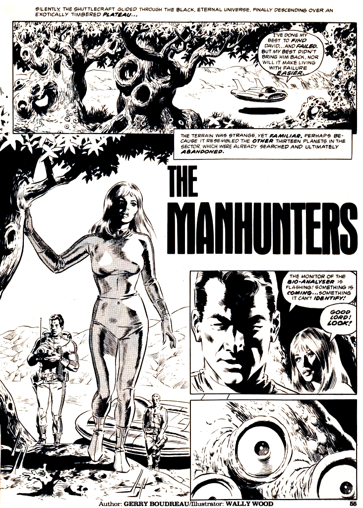 The Man hunters 1974 1A