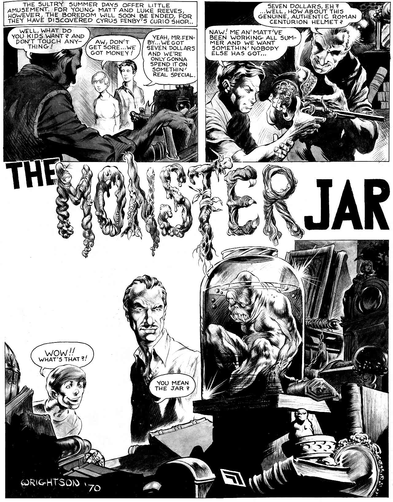 The Monster Jar 1970