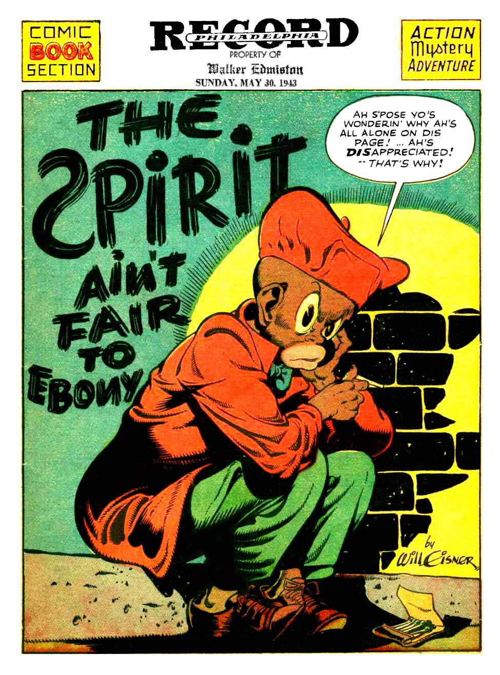 The Spirit (1943-05-30) – Philadelphia Record – Version 2