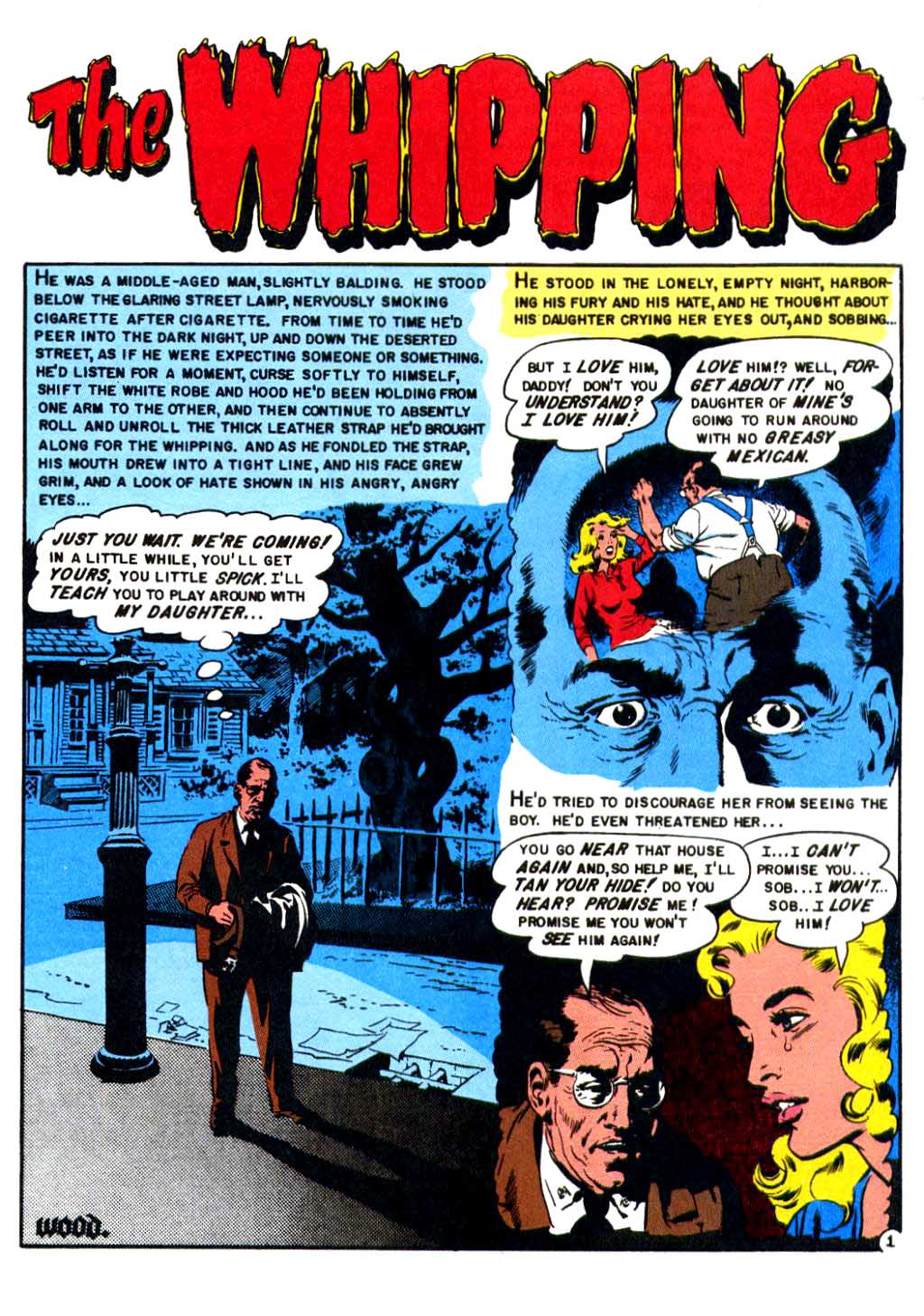 The Whipping Shock from SuspenStories #14  1954