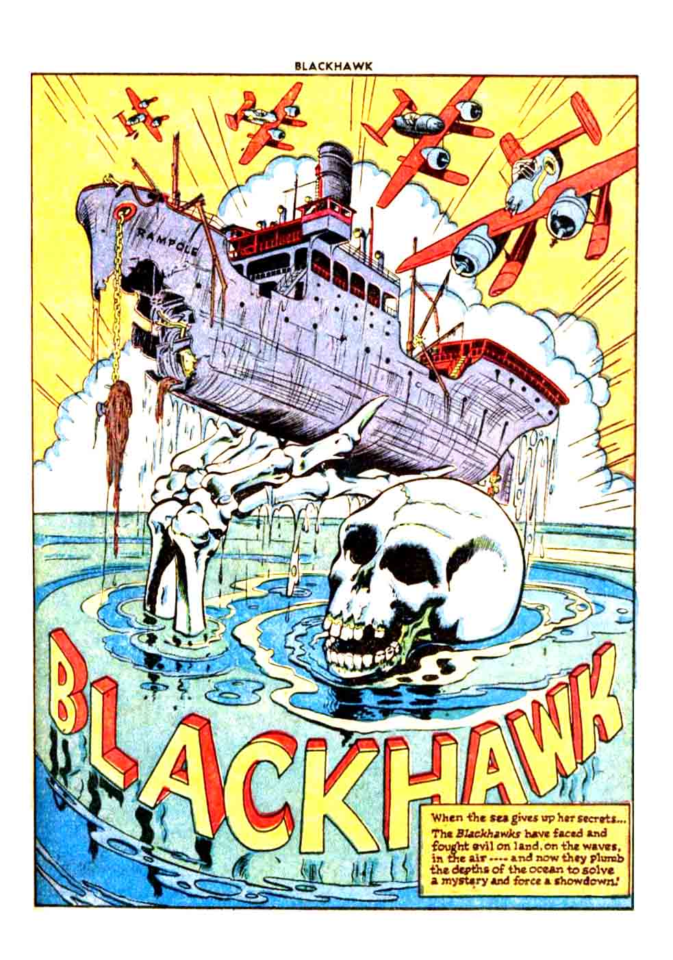 Blackhawk #10 The Wreck of the Rampole (Spring 1946)