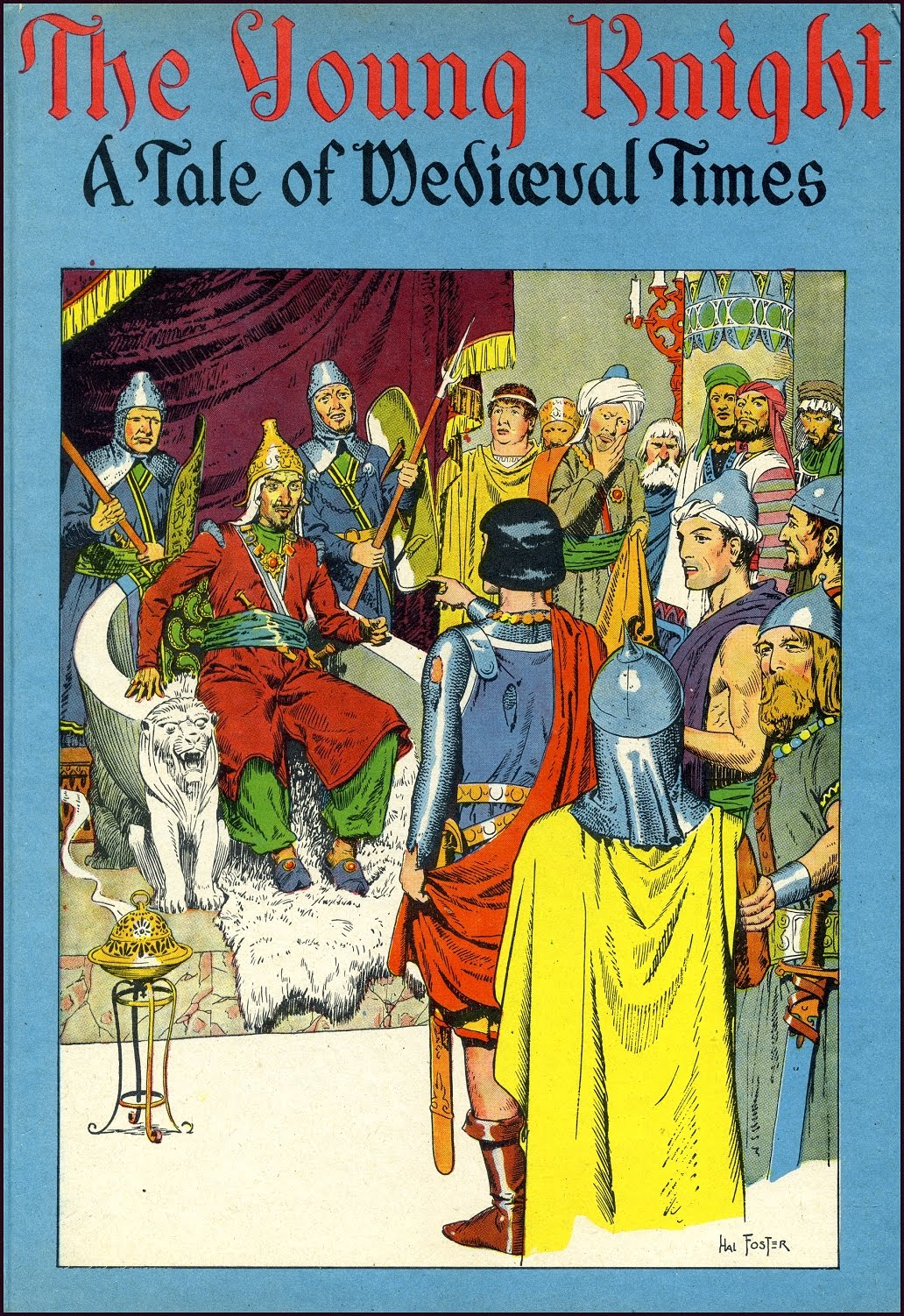 Foster R.Harold – The Young Knight ~ A Tale of Medieval Times