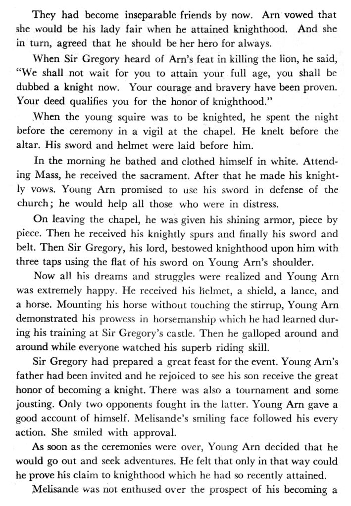 The Young Knight A Tale of Medieval Times 26