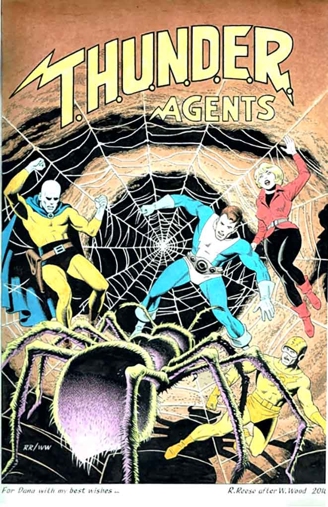 Thunder Agents 9 commission after Wally Wood