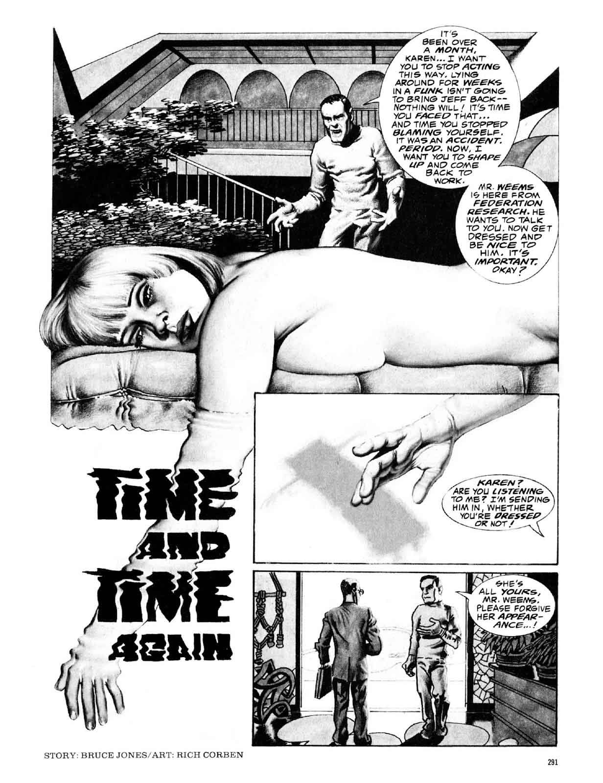Time and Time Again from Eerie #97 (November 1978)