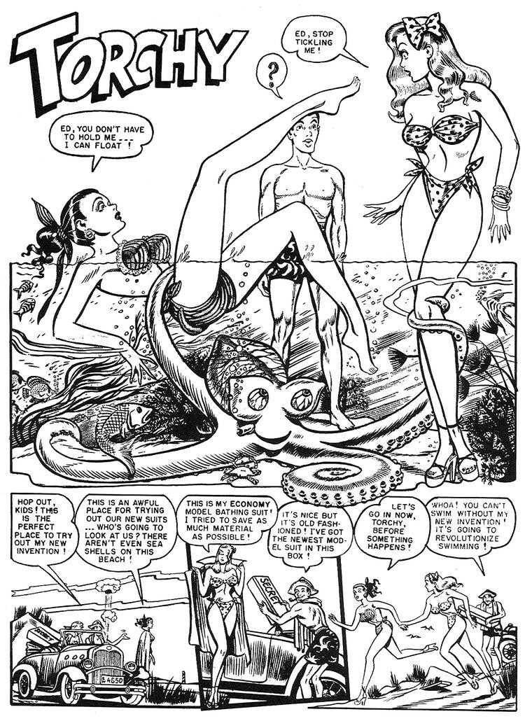 Torchy about a mermaid 1950