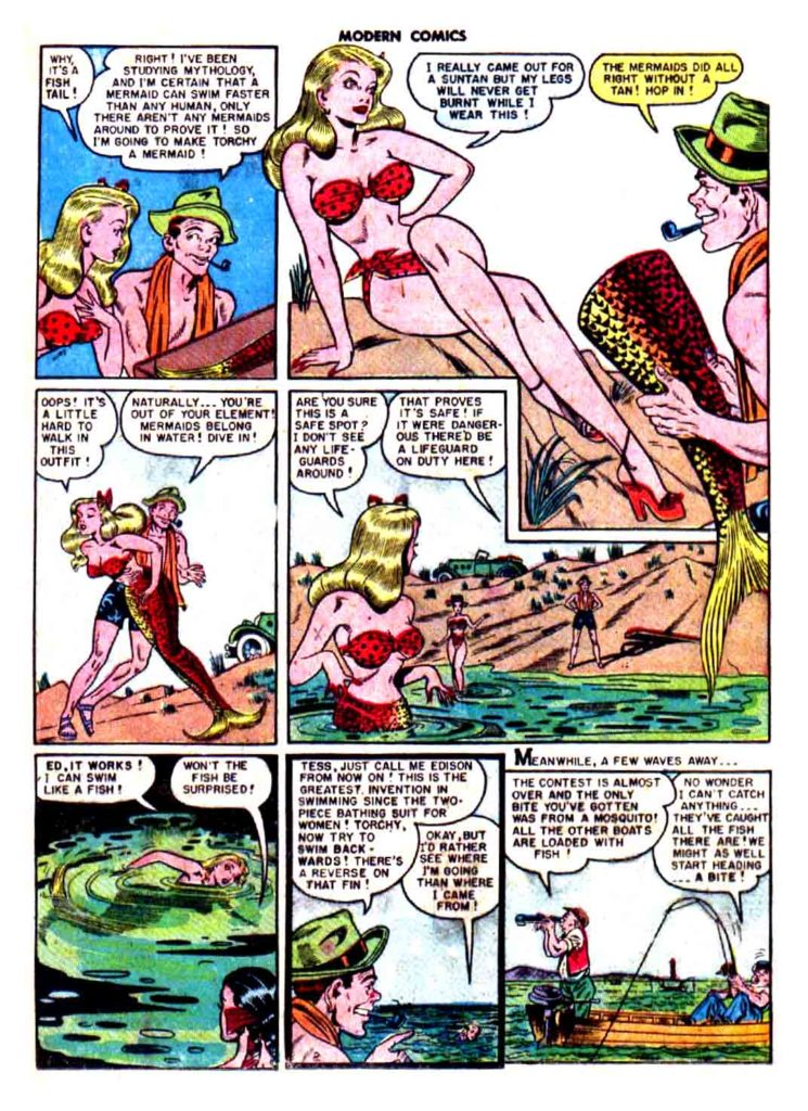 Torchy about a mermaid page 2