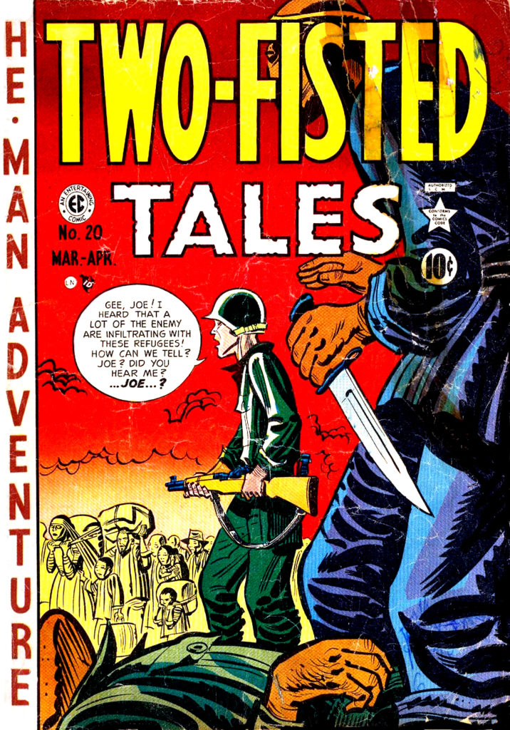 Two Fisted Tales 20 Cover