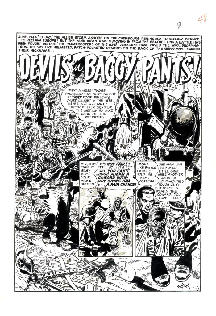 Two Fisted Tales 20 Page Story Devils in Baggy Pants 1952. 1 1