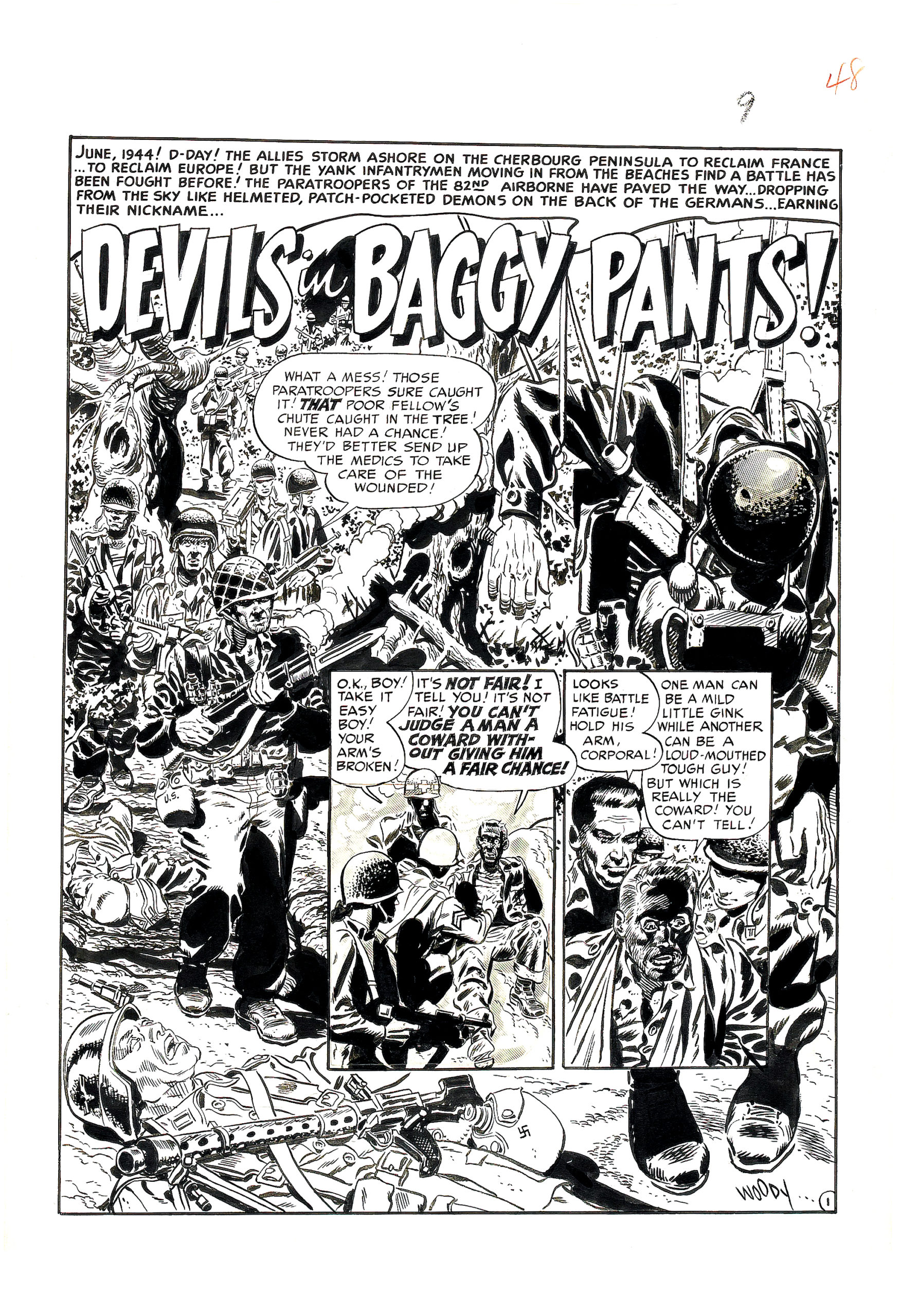 Wallace Wood – Devils in Baggy Pants