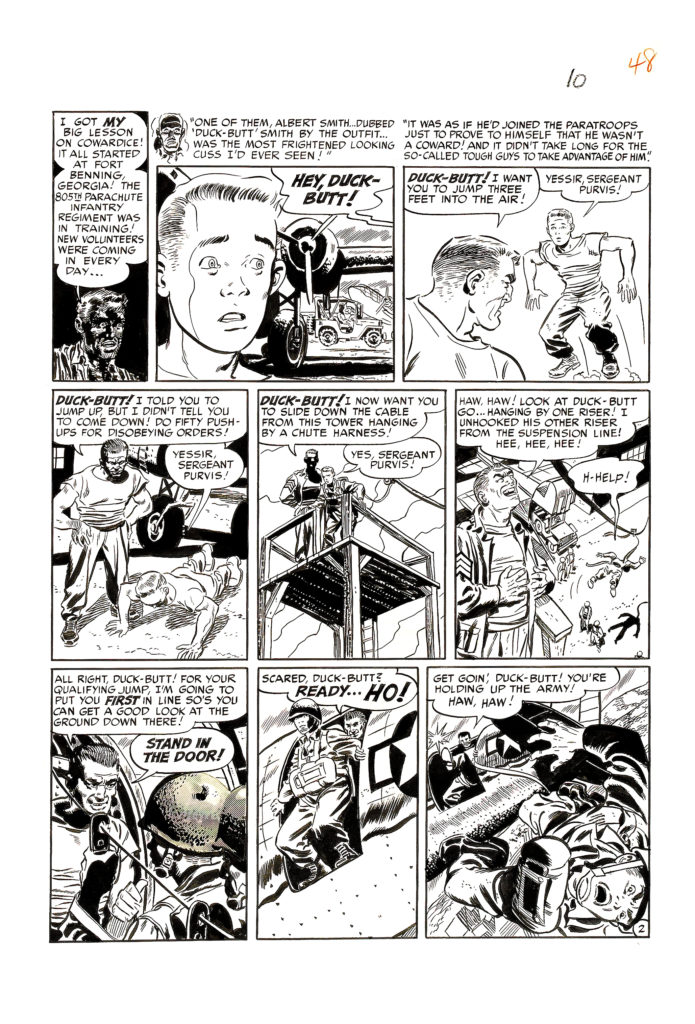 Two Fisted Tales 20 Page Story Devils in Baggy Pants 1952. 2