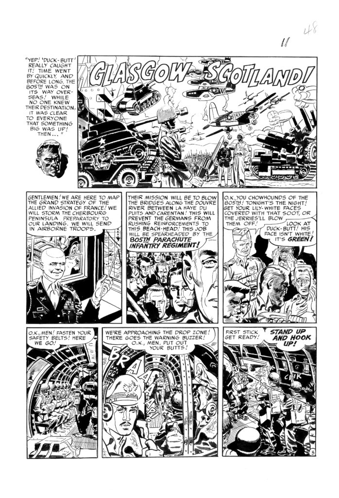 Two Fisted Tales 20 Page Story Devils in Baggy Pants 1952. 3