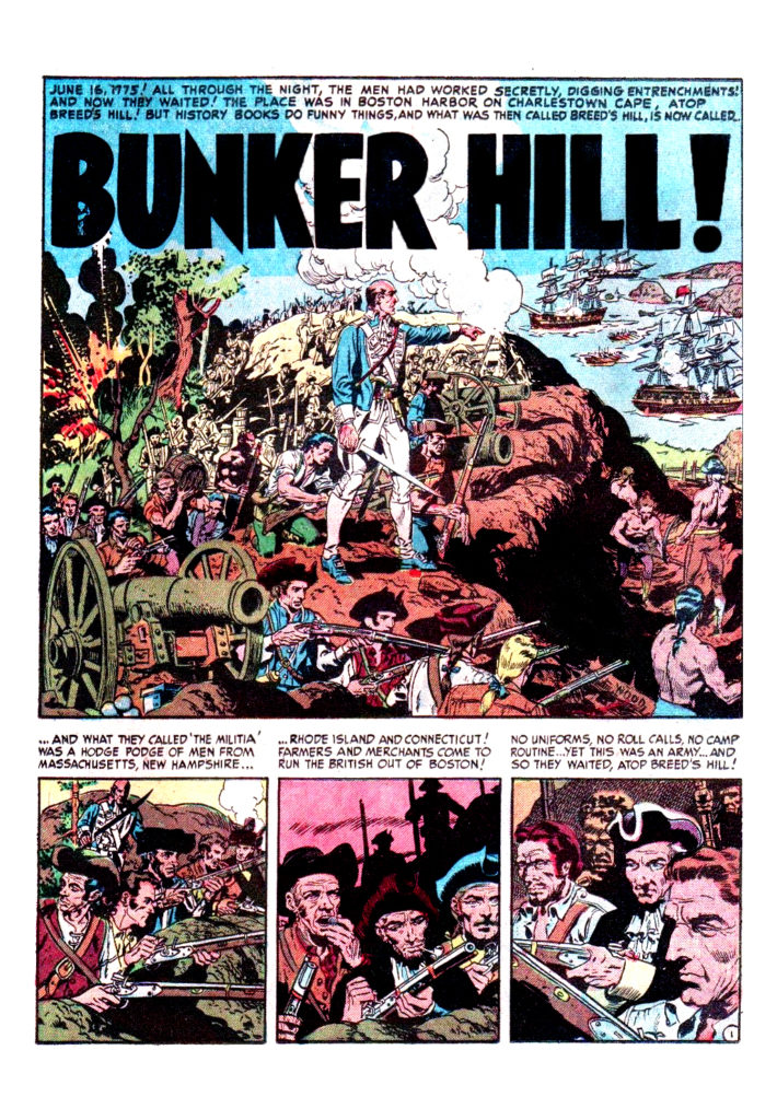 Two Fisted Tales 25 Bunker Hill 1
