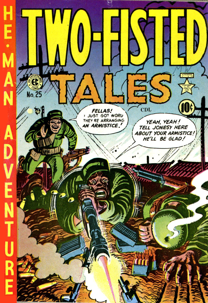 Two Fisted Tales 25 Bunker Hill cover