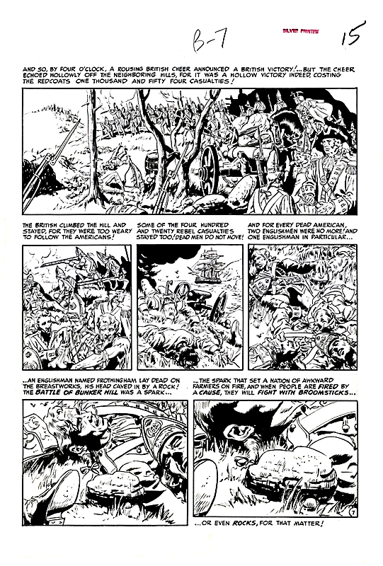 Two Fisted Tales 25 Bunker Hill page 7