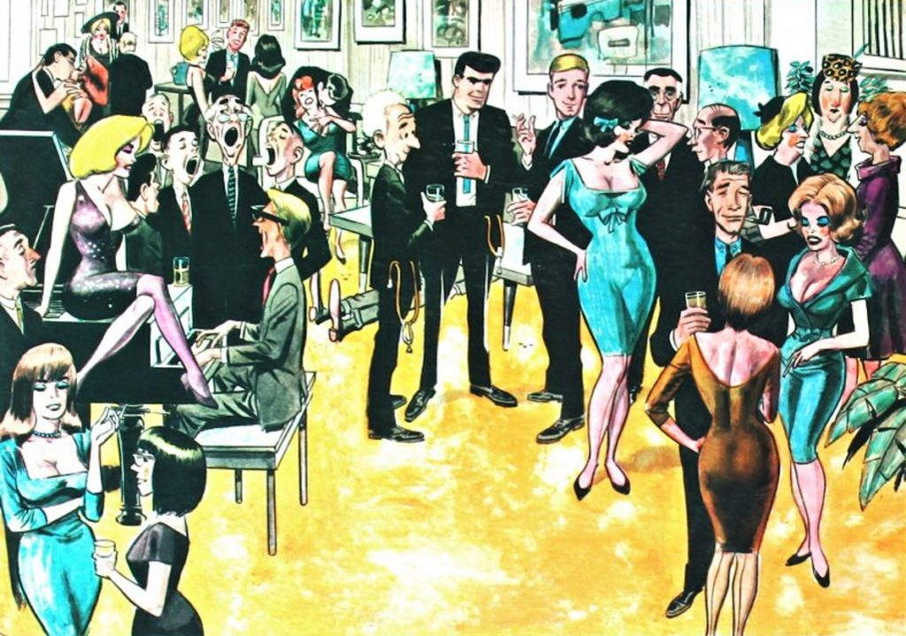 Wally Wood Peter and Penelope Poof Have A Party
