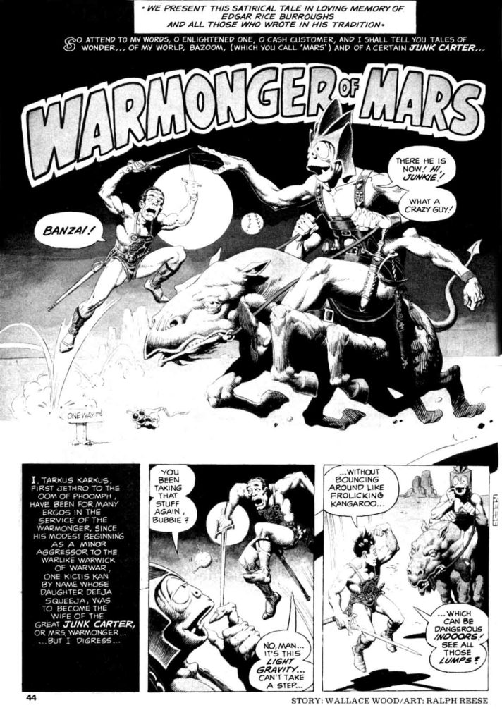 Warmonger of Mars 1 1