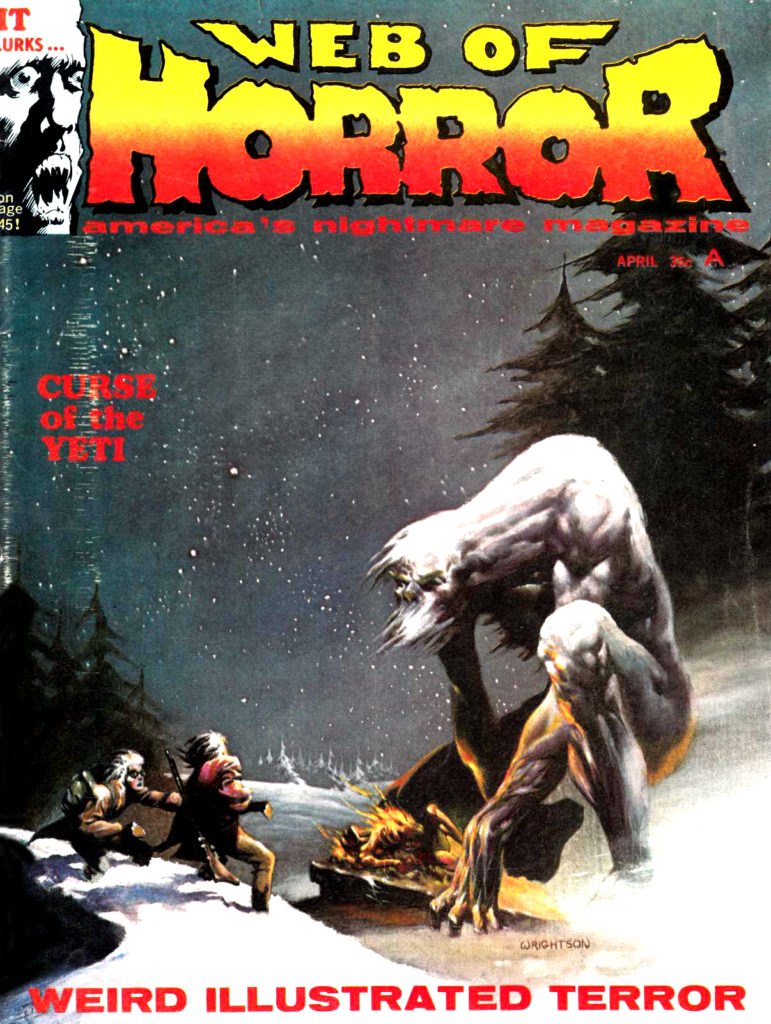 Web of Horror 3 Major April 1970 1