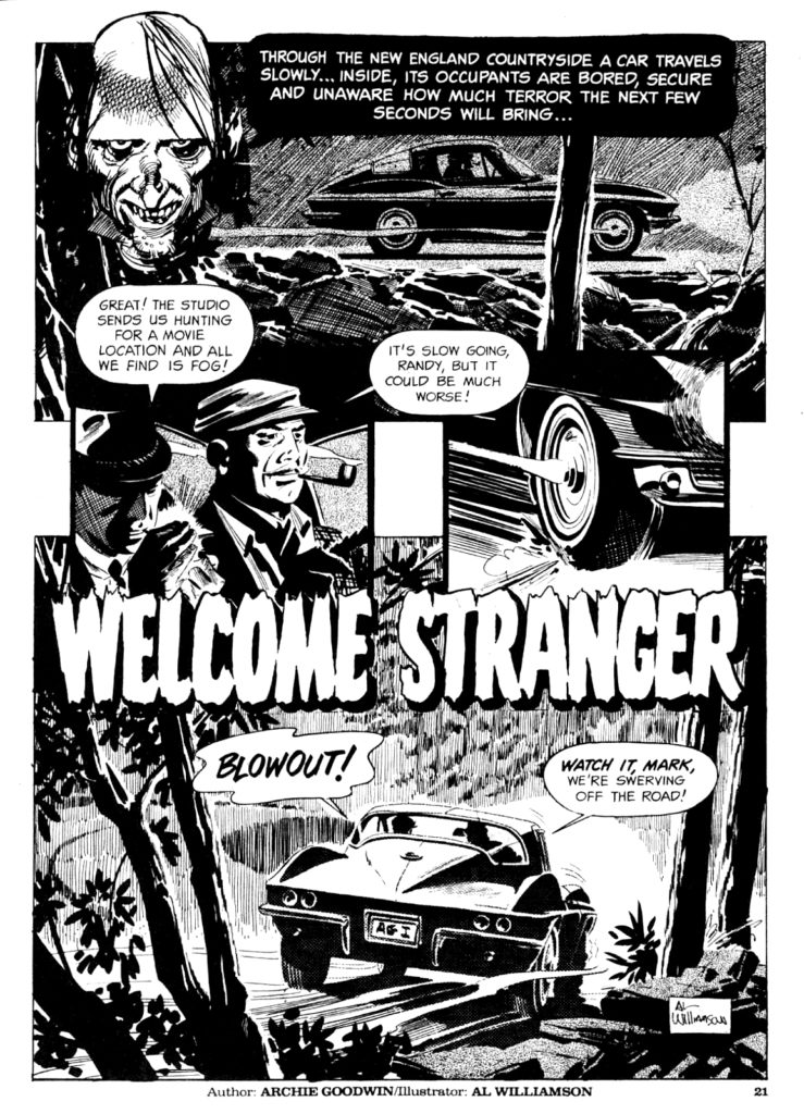 Welcome Stranger 1