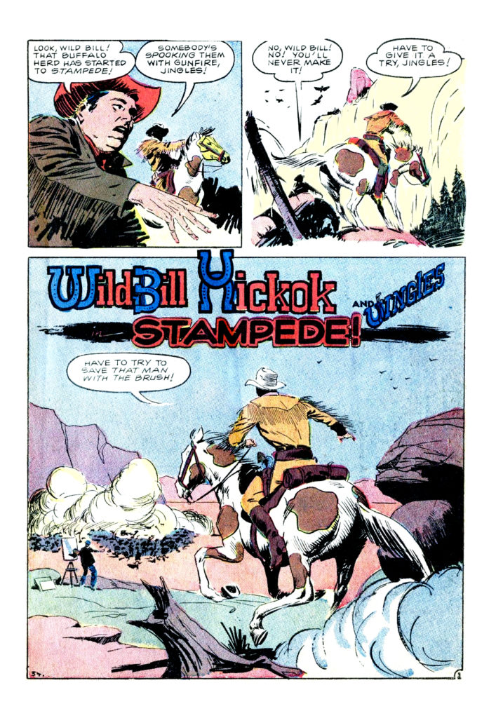 Wild Bill Hickcock And Jingles Stampede 1