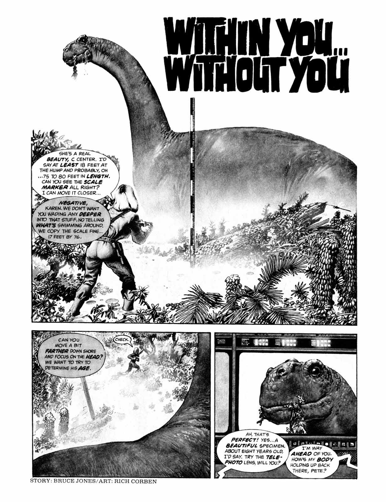 Within you…Without you from Eerie #77 (1976)