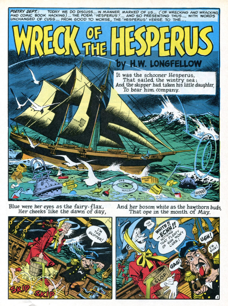 Wreck of The Hesperus color 1