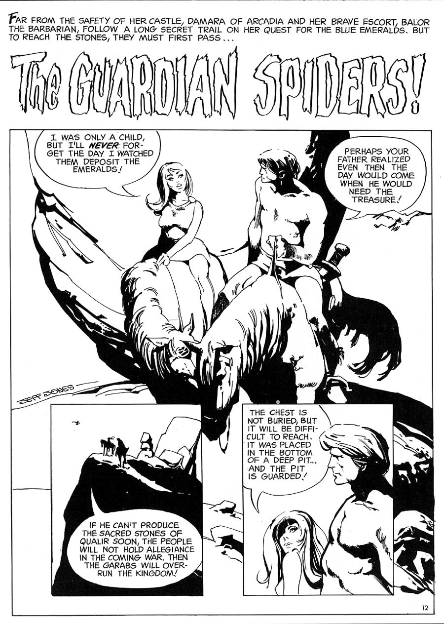 The Guardian Spiders From The Charlton Bullseye vol. 1, no. 1 (1975)