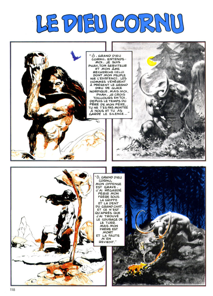 jones wrightson le dieu cornu special usa n14 15 june1985 p1of2 1